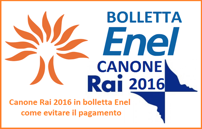Zoom immagine for Canone rai 2017 importo