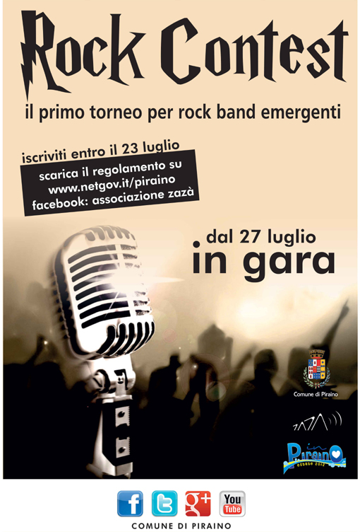 primo rock contest piraino full of rock